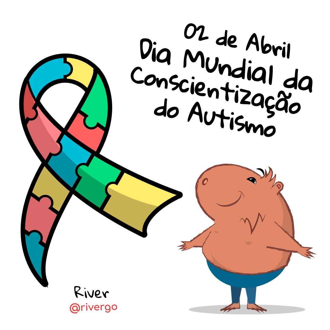 Dia mundial da conscientização do autismo! Sem dúvidas, um dia muito muito especial. Um dia para refletir e ajudar acabar com preconceitos e cada vez mais trazer a todos a inclusão. www.rivergo.art @rivergo #rivergo #autismo #diainternacionaldoautismo #diamundialdaconscientizaçãodoautismo #autismoinfantil💙 #mãedeautistas #maedeautista #autismobrasil #souautistasoucapaz #souautista #2deabril #2deabrildiamundialdelautismo #ensinandoautistas #inclusaosocial #inclusao #inclusaonaescola #inclusaoautismo #semprecoceito #diadoautista #autismone #mamaesdeautistas #meufilhoautista #meubebeautista #hojeéomeudia #vencendoopreconceito #autistasgroup #respeitoaoproximo #autismofeliz